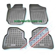 Резиновые коврики в салон VW Polo 5 2009- > (Rezaw-Plast)