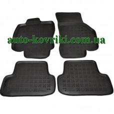 Резиновые коврики в салон Audi A3 2012- (Rezaw-Plast)