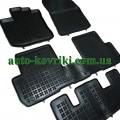 Резиновые коврики в салон Renault Lodgy 2012- (Rezaw-Plast)
