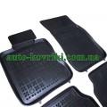 Резиновые коврики в салон BMW 5 Series Е60 2004- (Rezaw-Plast)