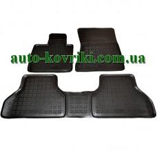 Резиновые коврики в салон BMW X6 E71 2007- (Rezaw-Plast)