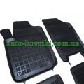 Резиновые коврики в салон Citroen C2 2003-2009 (Rezaw-Plast)
