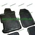 Резиновые коврики в салон Honda Civic 2000-2006 HB 3-х дв. (Rezaw-Plast)