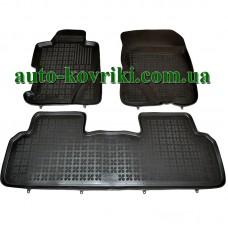 Резиновые коврики в салон Honda CR-V 2007- 2012 (Rezaw-Plast)