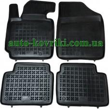 Резиновые коврики в салон Hyundai Veloster 2011- (Rezaw-Plast)