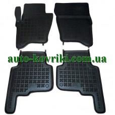 Резиновые коврики в салон Lexus RX 400h 2005-2009 (Rezaw-Plast)