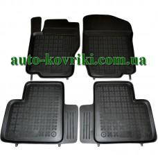 Резиновые коврики в салон Mercedes W-164 2005-2011 (Rezaw-Plast)