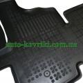 Резиновые коврики в салон Renault Master II 2003-2010 (Rezaw-Plast)
