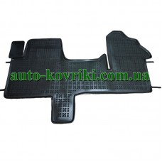 Резиновые коврики в салон Renault Master III 2010- (Rezaw-Plast)
