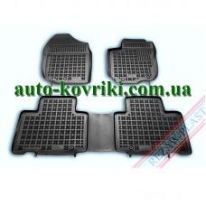 Резиновые коврики в салон Toyota RAV4 2013- (Rezaw-Plast)