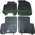 Резиновые коврики в салон Toyota Yaris 1999-2005 (Rezaw-Plast)