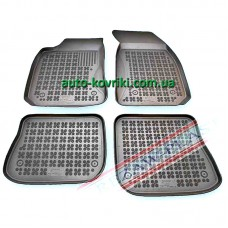 Резиновые коврики в салон Audi A4 (B5) 1995-2001 (Rezaw-Plast)