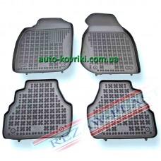Резиновые коврики в салон Audi A6 (C5) 1997-2004 (Rezaw-Plast)