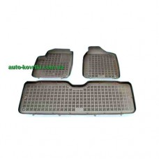 Резиновые коврики в салон VW Sharan 1995-2010 3шт. 5мест (Rezaw-Plast)