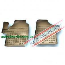 Резиновые коврики в салон Mercedes-Benz Vito/Viano (W639) 2003-2014 (Rezaw-Plast)
