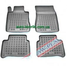 Резиновые коврики в салон Mercedes W-211 2003-2009 (Rezaw-Plast)