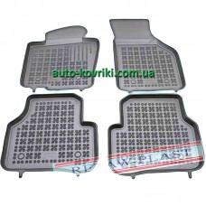 Резиновые коврики в салон VW Passat B6/B7 2007-2011 (Rezaw-Plast)