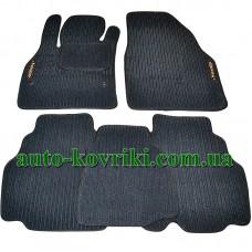 Текстильные (ворсовые) коврики в салон Renault Kangoo 2012- (Robust/Korona)