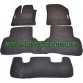 Текстильные (ворсовые) коврики в салон Renault Lodgy 2013- (Robust/Korona)