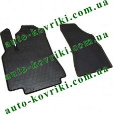 Резиновые коврики в салон Citroen Berlingo 2008- (2шт.) (Stingray)