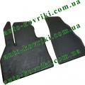 Резиновые коврики в салон Mercedes Citan 2012- (2шт.) (Stingray)