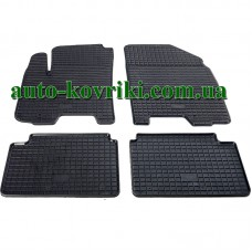 Резиновые коврики в салон Chevrolet Aveo 2005-2011 (Stingray)
