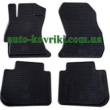 Резиновые коврики в салон Subaru Legacy 2009-2014 (Stingray)