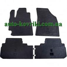 Резиновые коврики в салон Toyota Highlander 2008-2013 (Stingray)